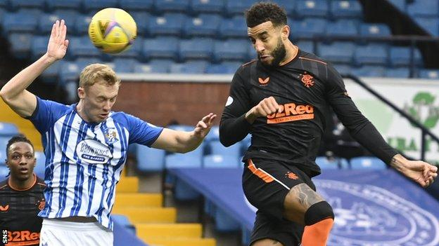 Ross Millen and Connor Goldson