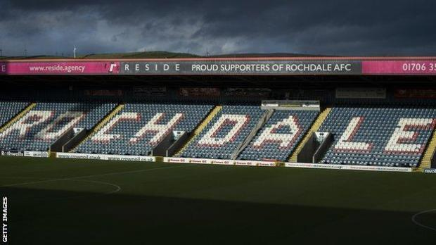 Rochdale are 21st in League One but have played two fewer games than some of their rivals at the bottom of the table