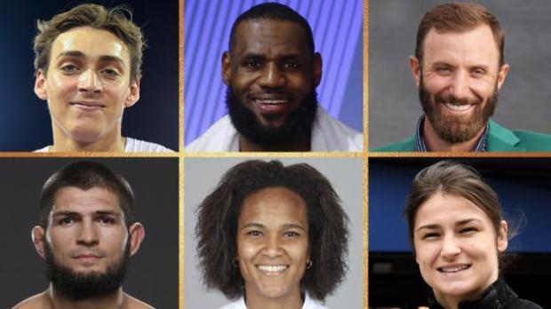 World Sport Star contenders