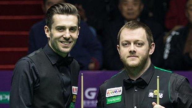 Mark Selby and Mark Allen