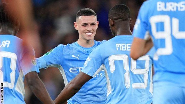 , Holders Man City thrash Wycombe after early scare, The Evepost BBC News