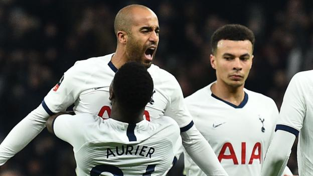Tottenham 3-2 Southampton, FA Cup fourth-round replay 1