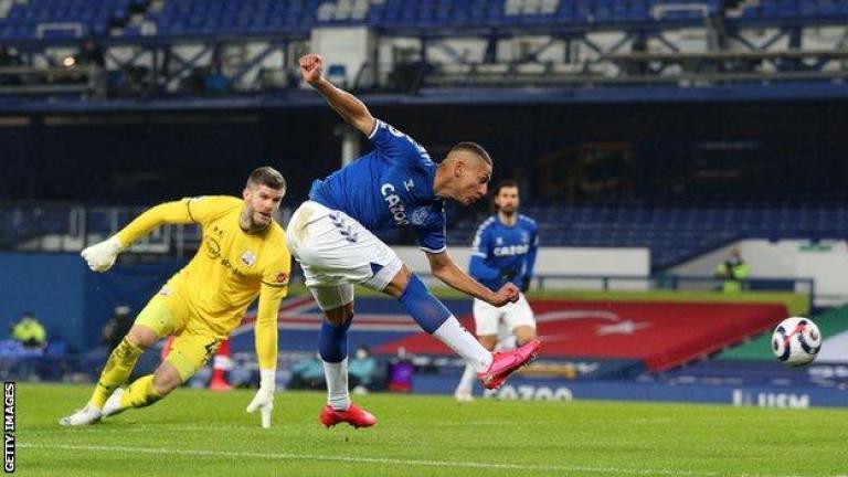 Everton 1-0 Southampton: Richarlison hits winner for hosts - BBC Sport