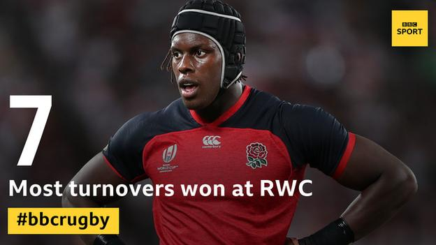Maro Itoje leads the turnovers