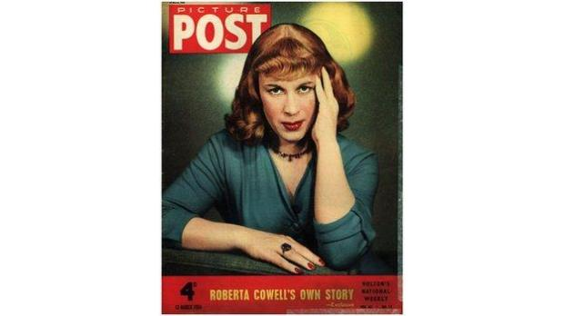 Roberta Cowell on Picture Post magazine