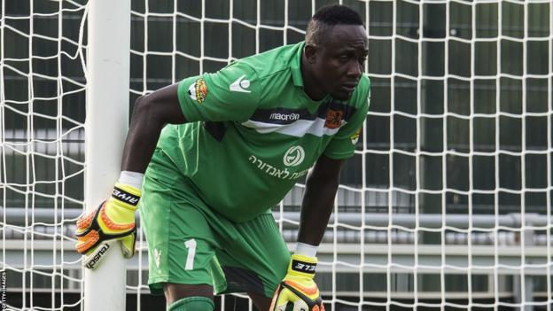 Dele Aiyenugba during his time at Israeli club Bnei Yehuda