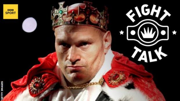 WBC heavyweight champion Tyson Fury