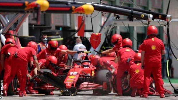 Ferrari at the Austrian Grand Prix