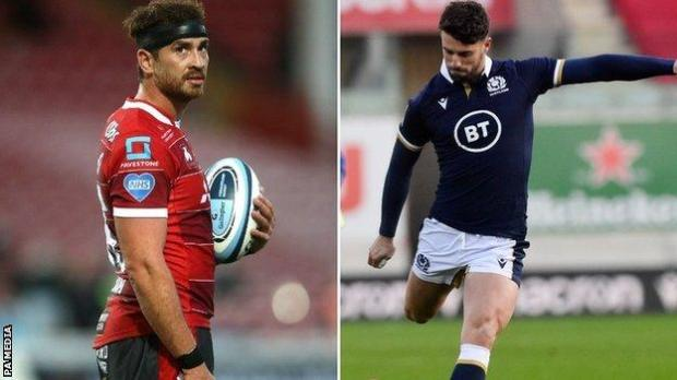 Danny Cipriani (left) leaves with immediate effect before Adam Hastings arrives in 2021