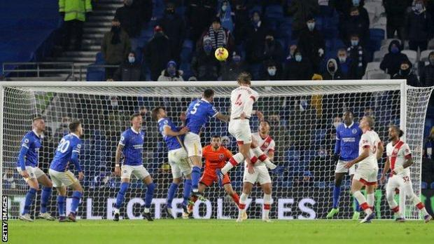 Kurt Zouma is the only Premier League defender to have scored more goals (4) this season than Jannik Vestergaard (3)