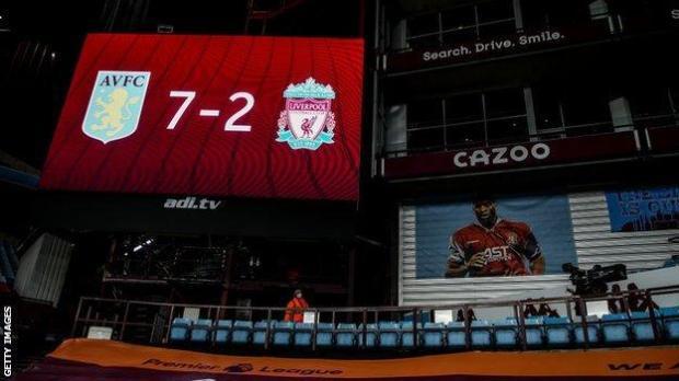 Aston Villa 7-2 Liverpool