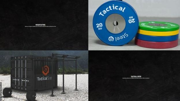 Images du site Web Tactical Steel
