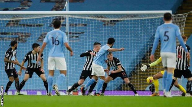 lkay Gundogan scored his second Premier League goal of the season