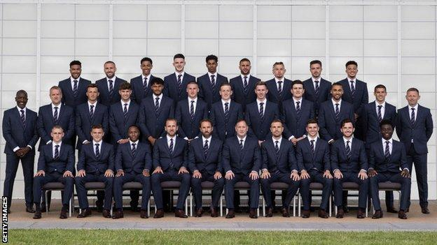 England's Euro 2020 squad