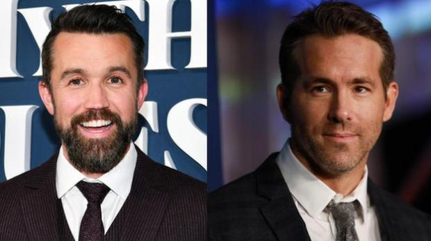Rob McElhenney and Ryan Reynolds