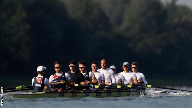 British men's eight at the 2019 World Rowing Championships