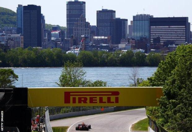 Max Verstappen at the Canadian Grand Prix