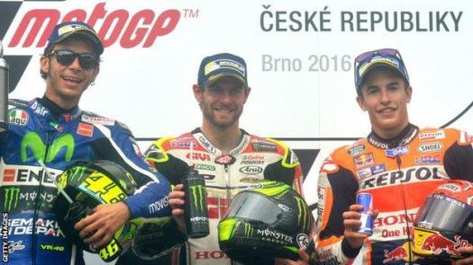 Valentino Rossi, Cal Crutchlow, Marc Marquez