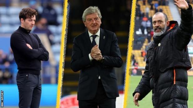 Ryan Mason, Roy Hodgson, Nuno Espirito Santo