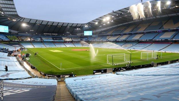 General view of Etihad Stadium