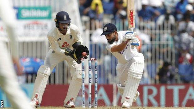 Virat Kohli is bowled by Moeen Ali