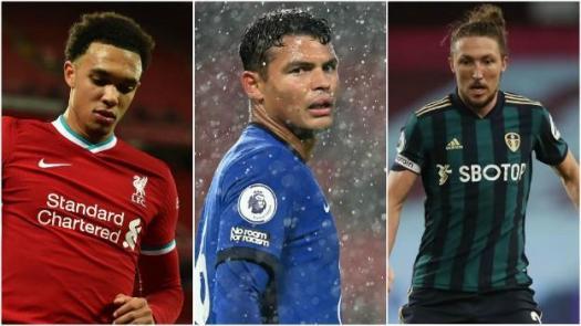 Alexander Arnold, Thiago Silva and Luke Ayling