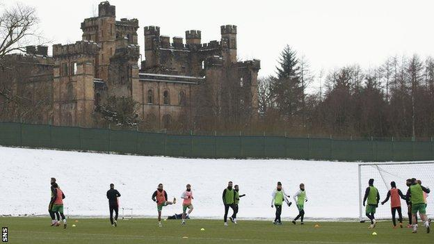 Celtic trained in Scotland on Saturday after returning from Dubai