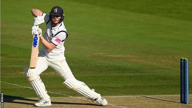 After making all his first five first-class centuries at Edgbaston, Rob Yates chose Lord's to hit his first outside Birmingham