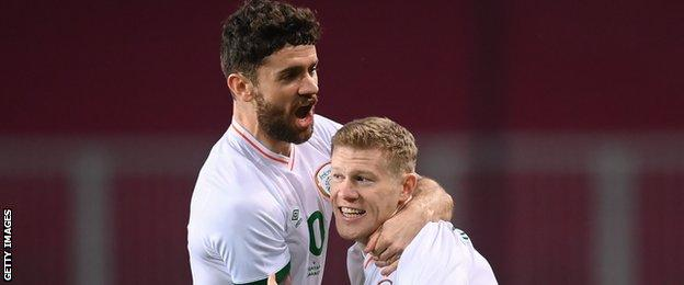 McClean's opener was not enough to secure a first win for Republic boss Kenny