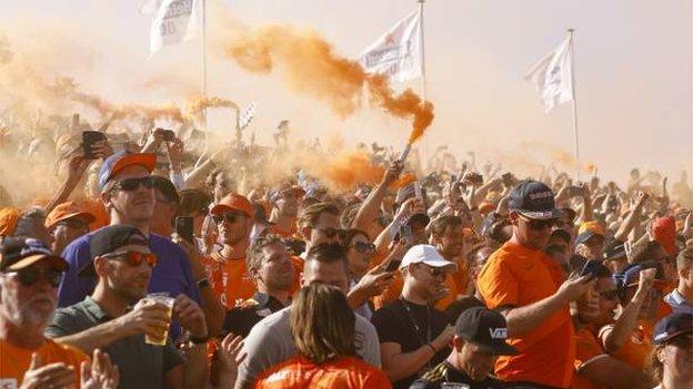 Dutch Grand Prix Fans