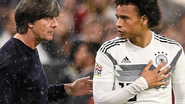 Leroy Sane Man City winger announces birth of daughter after leaving Germany team hotel  BBC Sport