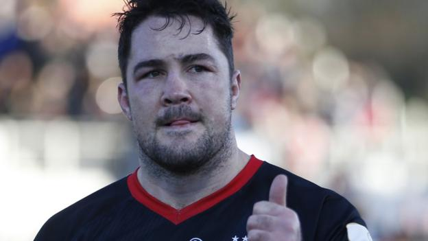 Photo of Brad Barritt: Saracens captain to depart membership at finish of 2019-20 season