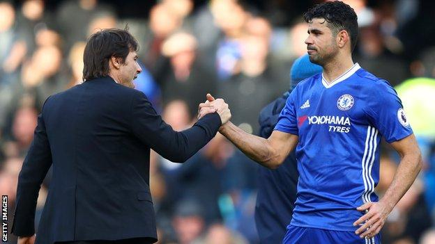 Diego Costa: Chelsea forward's behaviour is disgraceful, says Ian Wright