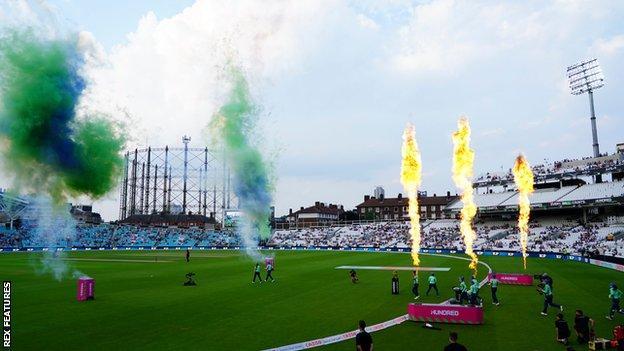 Fireworks at The Hundred
