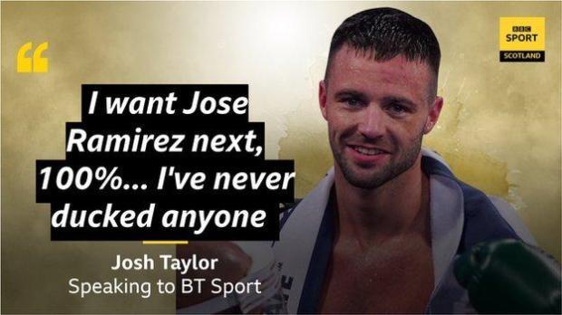Josh Taylor quote
