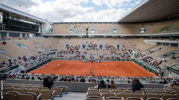 French Open crowd for women's final in 2020