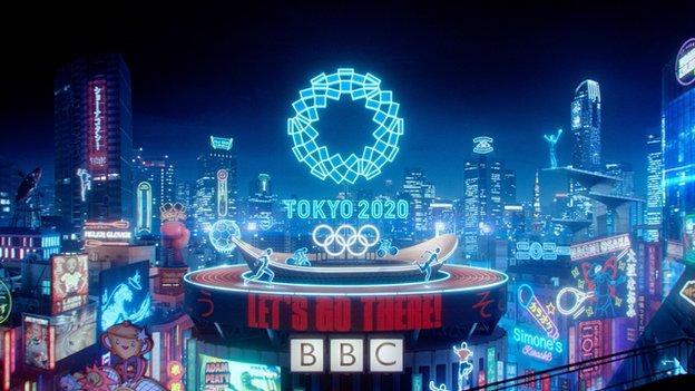 Tokyo Olympics on the BBC