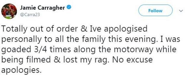 Jamie Carragher tweet