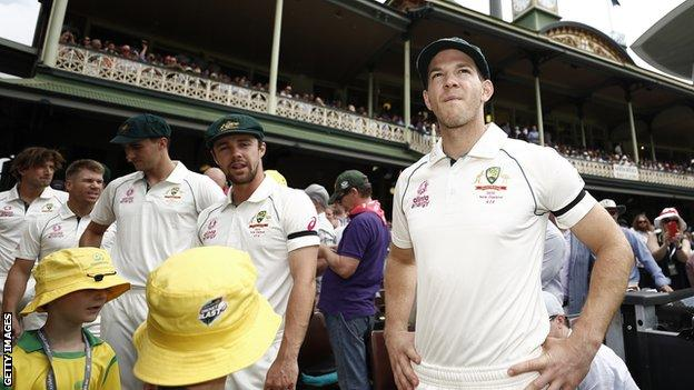 Tim Paine has captained Australia in 20 Tests