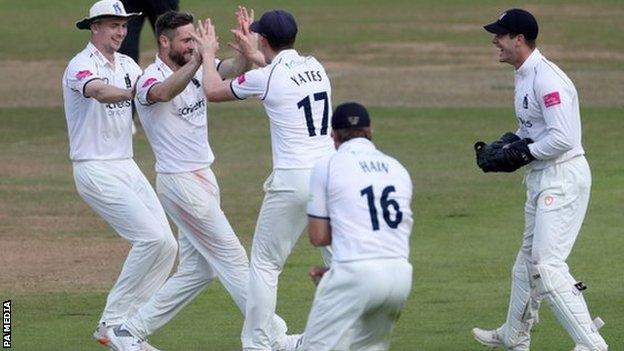 Having not played County Championship cricket in three years Chris Woakes roared back to action for the Bears with 12 match-winning wickets in two games