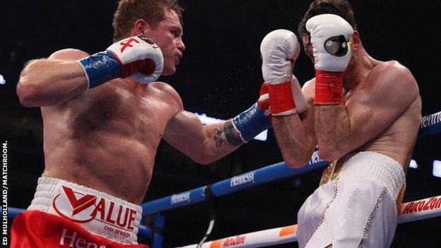 Saul Alvarez vs. Callum Smith