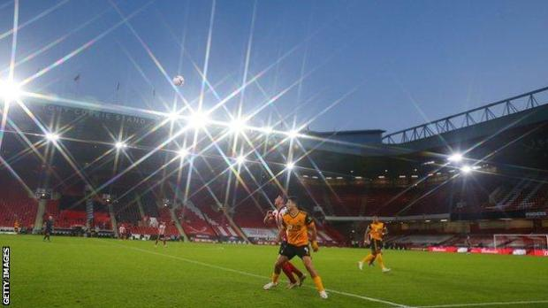 Sheffield United play against Wolves