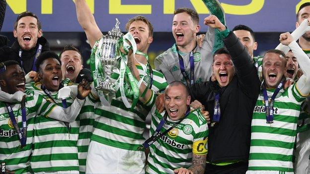 Scott Brown aims to win a seventh Scottish Cup with Celtic before his summer exit