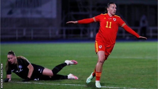 , Women's World Cup 2023 qualifier: Estonia Women 0-1 Wales, The Evepost BBC News