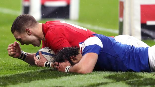 Six Nations: Wales stage dramatic second-half comeback to beat France 1