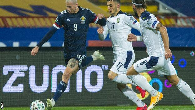 Fearless and physical, the striker led the line superbly and is a national hero after just six caps. Australia's loss is Scotland's gain