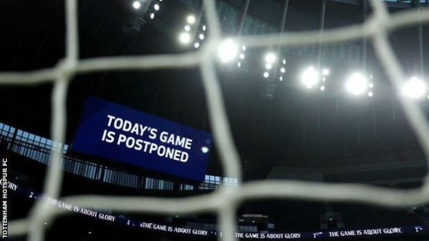 Tottenham v Fulham was originally due to take place on 30 December