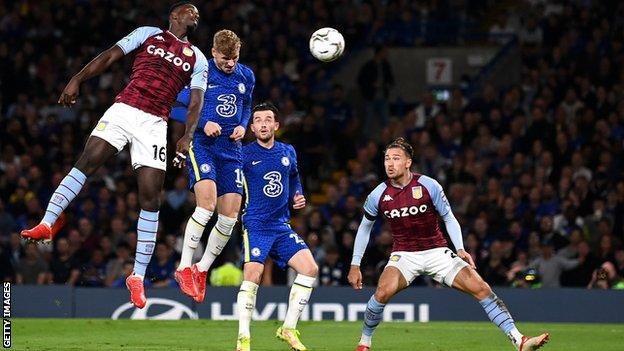 , Chelsea 1-1 Aston Villa (4-3 on pens): Blues win shootout to reach Carabao Cup last 16, The Evepost BBC News