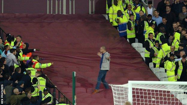 Trouble at West Ham