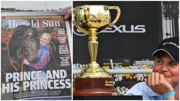 Melbourne Sun Herald and Charlie Fellowes